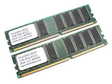 Electrobyt PC3200U-30331 2GB 2x1GB Kit PC3200 400MHz DDR RAM Memory 184-pin DIMM