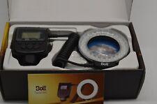 Bolt VM-110 LED Macro Ring Light 4 Light modes 4 Diffusers VM110