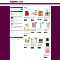 Latest Perfume Website With One Years Hosting & New Domain - UK Affiliate