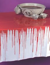 Halloween Drips Of Blood Bloody Horror Large Tablecloth Tablecover Decoration