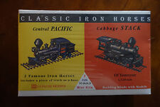 GLENCOE MINIKITS CENTRAL PACIFIC & CABAGESTACK PLASTIC LOCOMOTIVE MODEL KITS