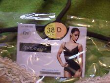 BHS Shapewear Body Shaper Magic Cotton Bodysuit Nude 38 D