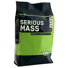 on Optimum Nutrition Serious Mass 5 4kg Weight Gainer Protein Strawberry