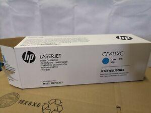 Genuine HP 410x Cf411x Cyan Toner Cartridge