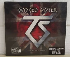 TWISTED SISTER - LIVE AT THE ASTORIA - CD + DVD