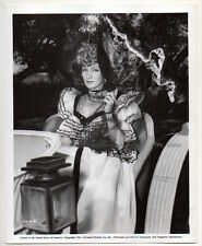 MARLENE DIETRICH Flame of New Orleans 1941 VINTAGE PHOTO sexy actress w. parasol