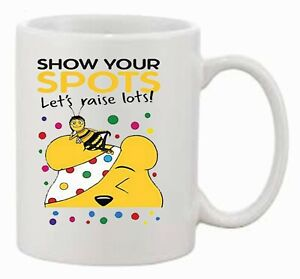 Children in Need 'Show your Spots, Let's Raise Lots' Pudsey Bear Printed Mug