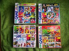 NINTENDO GAME BOY GAMEBOY COLOR ADVANCE LOTE 36 IN 1 MAS 108 IN 1