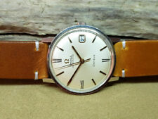 1967 OMEGA Seamaster cadran argent Date CAL:565 automatique homme watch
