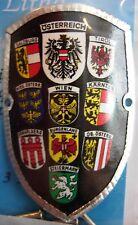 Austria Osterreich Österreich new badge mount stocknagel hiking medallion G9840