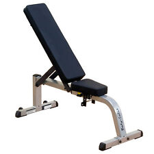 Body-Solid Flat/ Incline Gym Weight Lifting Bench
