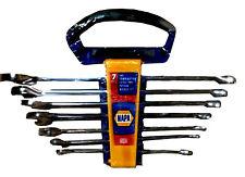 7 PC. Full Polish Extra Long Pattern, Combination Wrench Set SAE