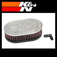 K&N RA-071V Air Filter - Universal Chrome Filter - K and N Part
