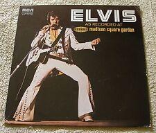 Elvis Presley 1976 RCA LP Madison Square Garden J.D. Sumner Sweet Inspirations