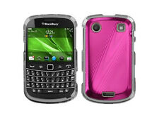 Hot Pink Cosmo HARD Case Snap on Phone Cover for Blackberry Bold 9930 9900