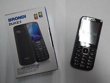 BRONDI DUKE S TELEFONO CELLULARE DUAL SIM CAMERA 1.3MP RADIO FM VIVAVOCE NERO
