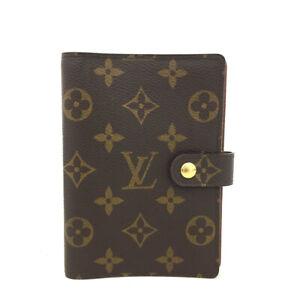100% Authentic Louis Vuitton Monogram Agenda PM Notebook Cover /60987