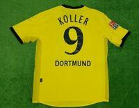 "Borussia Dortmund gool Matchworn Trikot 2003/04 ""e-on"" Nr.9 Koller Gr.XXL TOP"