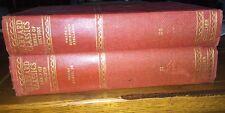 Harvard Classics 1917 The Five Foot Shelf of Books 2 Volumes 11 & 20