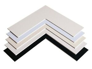PHOTO / PICTURE FRAME MOUNTS   - MADE TO ORDER - ANY SIZE  (INCHES) - BEVEL CUT