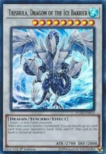 x3 Trishula, Dragon of the Ice Barrier - DUDE-EN014 - Ultra Rare - 1st Edition Y