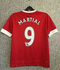 Adidas Manchester United #9 Martial Mint Football Shirt Soccer Jersey Youth L