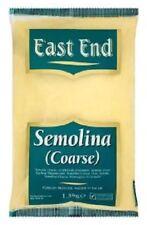 1.5kg East End Semolina Coarse Flour, For Bakery, Cooking Indian Food Deserts