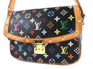 LOUIS VUITTON Sologne Crossbody Shoulder Bag Monogram Multicolor M92661 V-3606