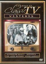 THE BEST OF CLASSIC TV WESTERNS -  RANDOLPH SCOTT, BONANZA, THE LONE RANGER -DVD