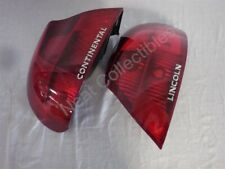NOS OEM Lincoln Continental Tail Lamp Lens & Housing 1998 PAIR