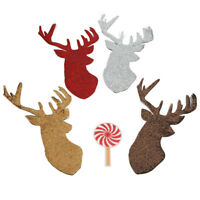 Christmas Patch Sequin Embroidery Accessories DIY Applique on Clothes Navidad