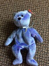 Beanie Baby by Ty 'Clubby Ii Bear' Bright Bear Date Of Birth 3/9/99 Wt's