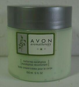 Retired Avon Aromatherapy Nurturing Eucalyptus Body Cream 5fl oz New Old Stock