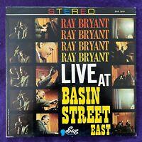 RAY BRYANT Live At Basin Street East LP '64 SUE Stereo Jazz Vinyl Record NM-/NM-