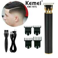 NEW Kemei 1971 Pro T-Outliner Skeleton Cordless Trimmer Clipper Machine Hai Q1U1