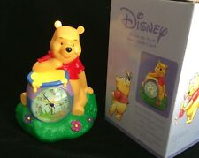 *NEW* Disney Winnie the Pooh Hunny Pots Figurine  Bank/ Alarm Clock Quartz Clock