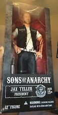 Charlie Hunnam Signed 12 Inch Sons of Anarchy Jax Teller Figure w/ exact proof