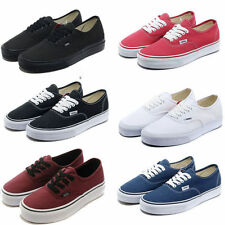 HOT Van Mens classic AuthenticTrainer casual flats shoes canvas shoes Sneakers