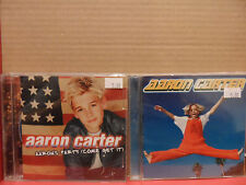 Aaron Carter - 2 CD Lot Self Titled AARON'S PARTY (Come Get IT)