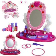 Girls Princess Glamour Mirror Dressing Vanity Table Beauty Play Set Music Toy