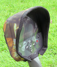 CONTROL BOX COVER TO FIT MINELAB CTX -WITH  SUNSHADE-METAL DETECTOR- CAMO