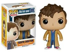 Funko Pop! Dr Who TENTH DOCTOR David Tennant #221 Vinyl Figure NEW & IN STOCK