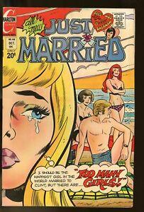 JUST MARRIED #88 FINE- 5.5 1972 CHARLTON COMICS