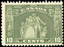 1934 Mint NH Canada F Scott #209 10c Loyalists Issue Stamp