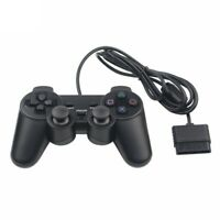 Sony PlayStation 2 Dual Twin Shock Wired Replacement Generic Game Controller PS2