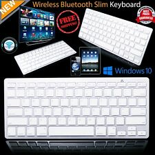 Bluetooth Wireless Keyboard 3.0 Slim for Mac  PC Tablet Smart Phones iPad iPhone