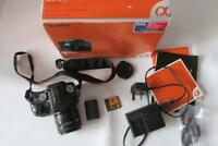 Sony Alpha A100 10.2MP Digital-SLR DSLR Camera + AF 28-80mm Minolta Lens - BOXED