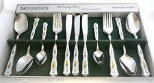 ****  Monogram  Royal  Albert  Old  Country  Roses Cutlery  Set  ****  RARE