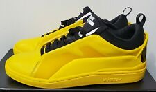 PUMA x Alexander McQueen McQ Brace Lo Yellow Leather Sneakers 10 NEW 361319-03