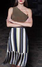Zeus Dione 100% Silk Skirt Size Fr40 Uk12
